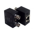 Dual Balun Shielded BNC(F)*2 to RJ45(F)
